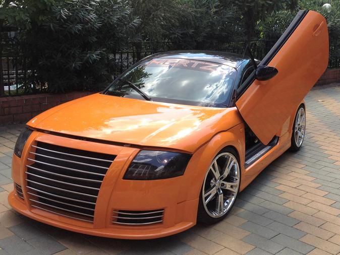 Audi TT 1.8 Turbo Tuning