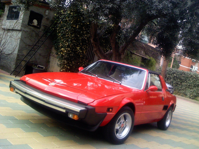 Fiat X1/9 Five Speed